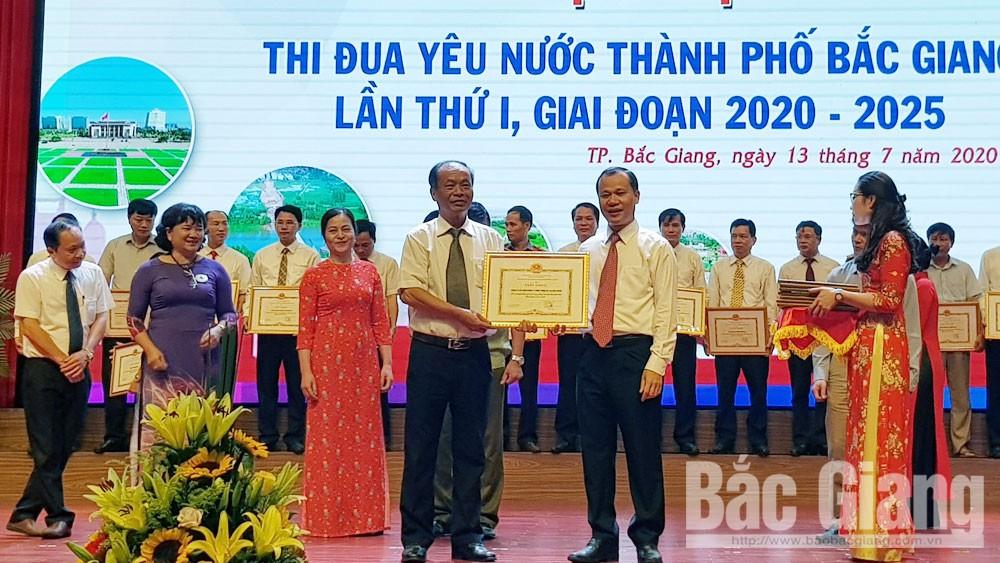 đại hội thi đua yêu nước, TP bắc Giang, Bắc Giang