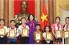Phó Chủ tịch nước gặp mặt Đoàn đại biểu cháu ngoan Bác Hồ tỉnh Nghệ An