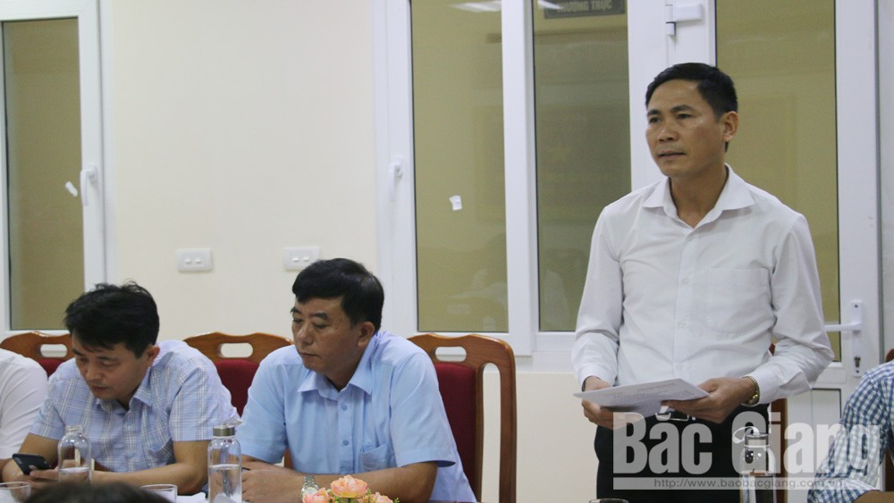 Nguyễn Thị Kim Dung; Ban Dân vận Tỉnh ủy Bắc Giang; góp ý kiến văn kiện đại hội đảng