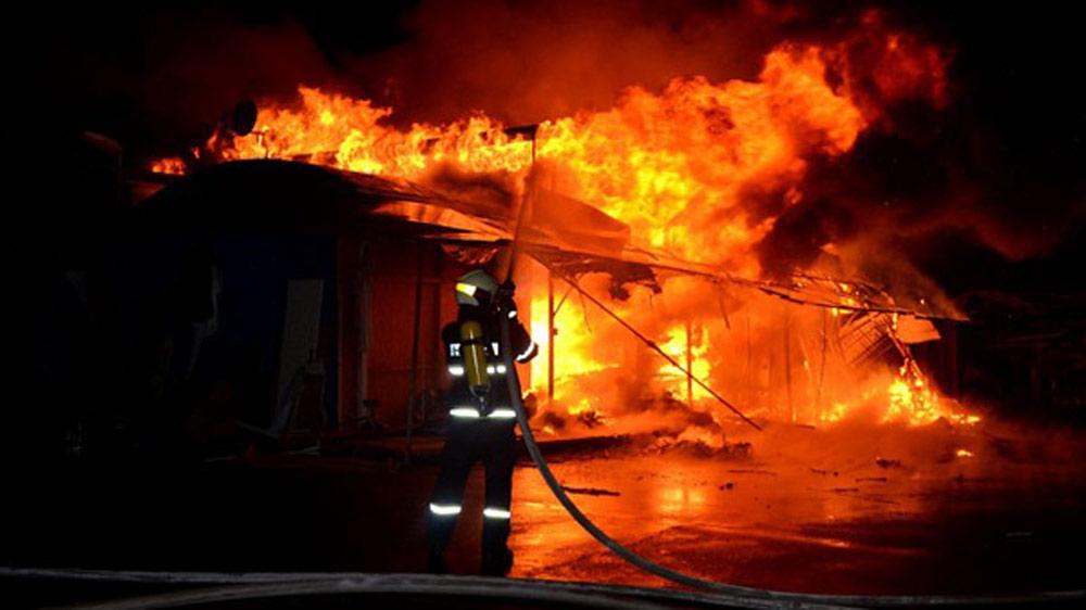 Ngôi nhà bốc cháy, 3 người bị bỏng nặng