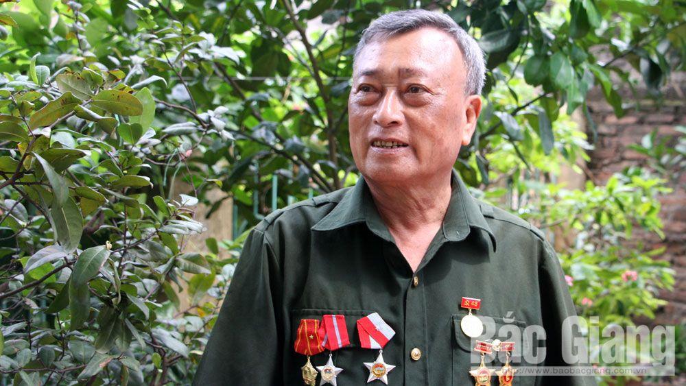 cựu chiến binh, thương binh, Thân Trọng Xuyên, Việt Yên