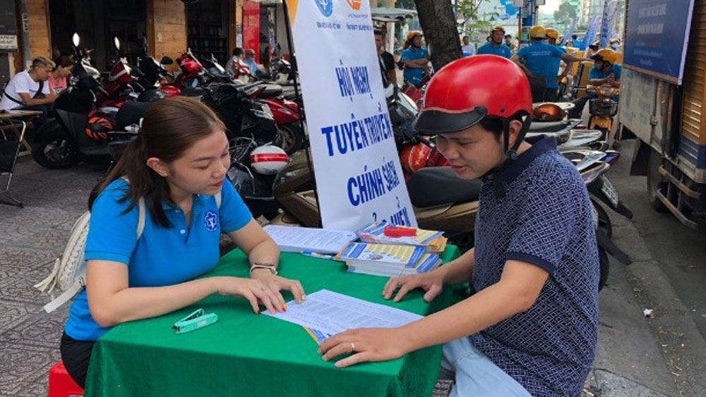 Social insurance applications, campaign to raise awareness