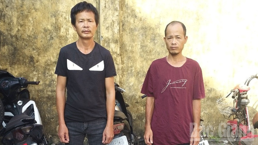 Trộm cắp tài sản; ma túy; nghiên ma túy, Công an Yên Thế; Bắc Giang