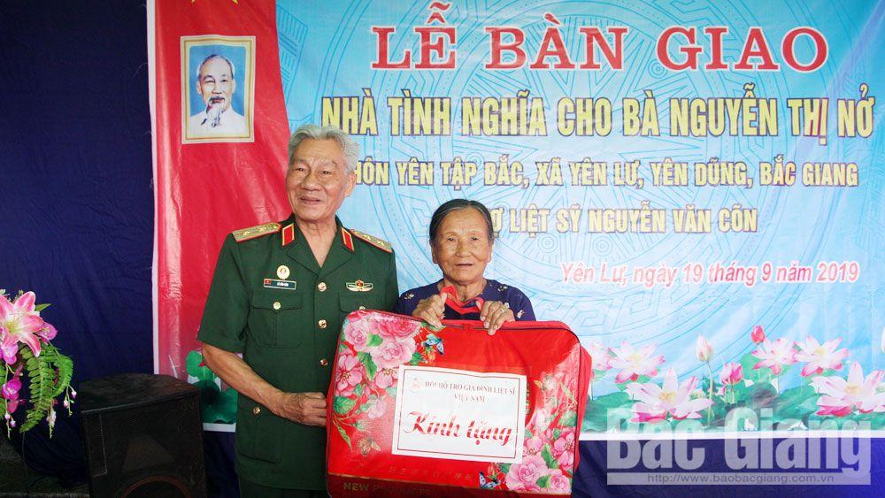 Yên Dũng: Thành lập 6 đoàn tặng quà người có công