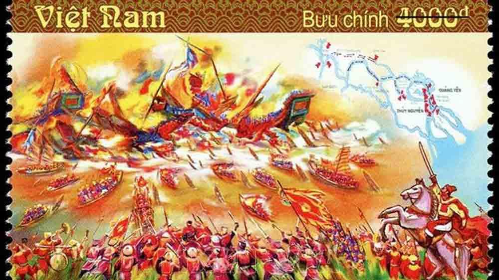 Phát hành đặc biệt bộ tem bưu chính 'Chiến thắng Bạch Đằng'