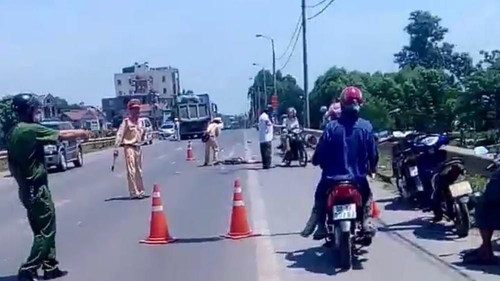 Bắc Giang: Một phụ nữ tử vong do tai nạn giao thông
