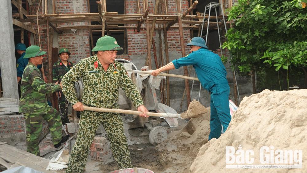 Bộ Chỉ huy quân sự tỉnh Bắc Giang: Nhiều hoạt động tri ân