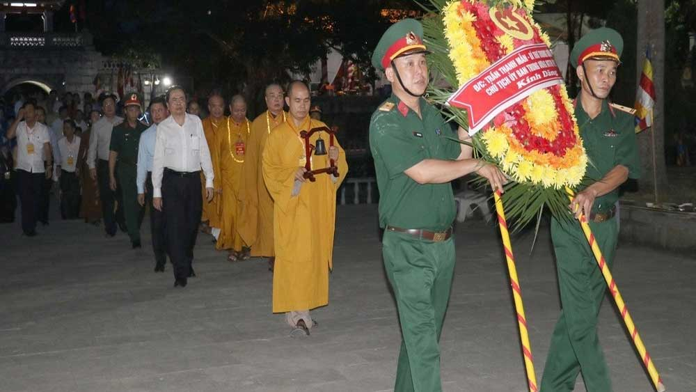 requiem ceremony, commemorates martyrs, Nghe An province, Vietnam – Lao Martyrs Cemetery,  Lao battlefield, 73rd anniversary
