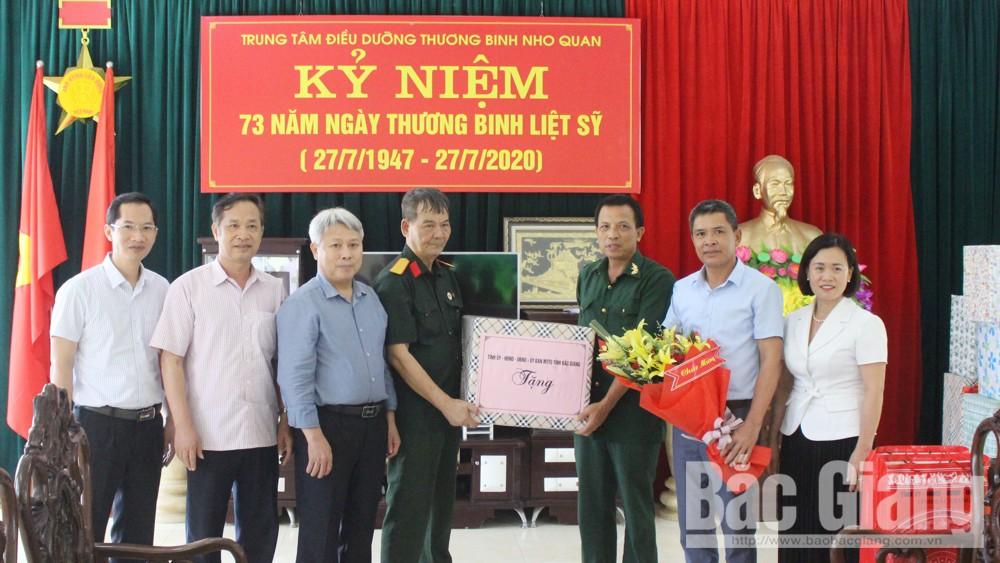Phó Chủ tịch HĐND tỉnh Từ Minh Hải thăm, tặng quà thương binh, bệnh binh