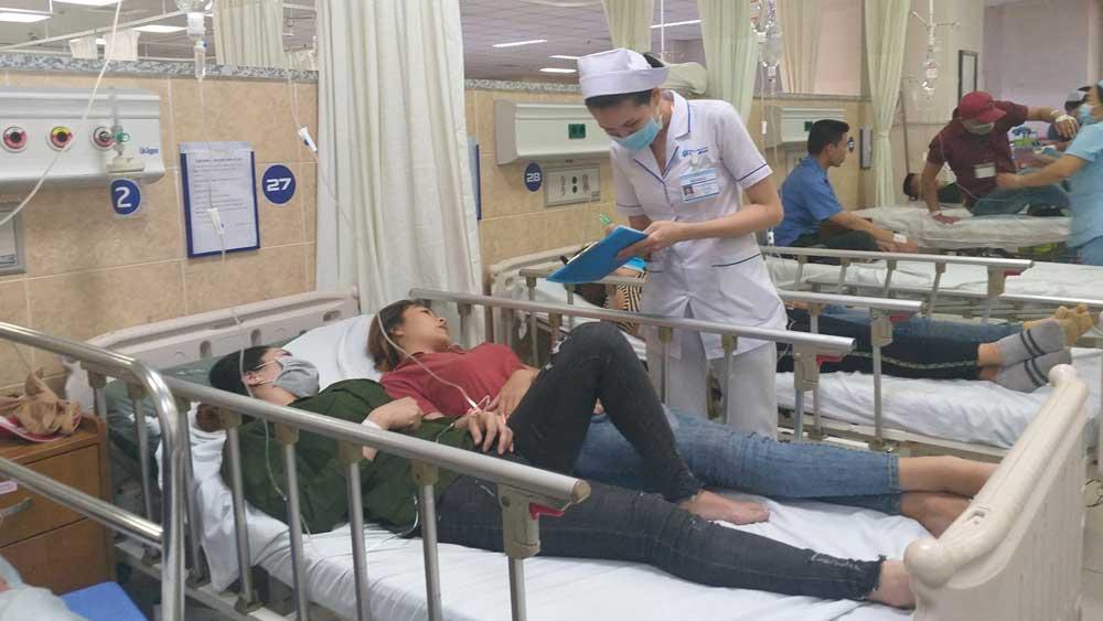 Đồng Nai: Hơn 100 công nhân nhập viện nghi do ngộ độc thực phẩm