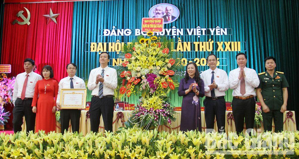 Đại hội, Việt Yên, Đảng bộ, Đại hội Đảng