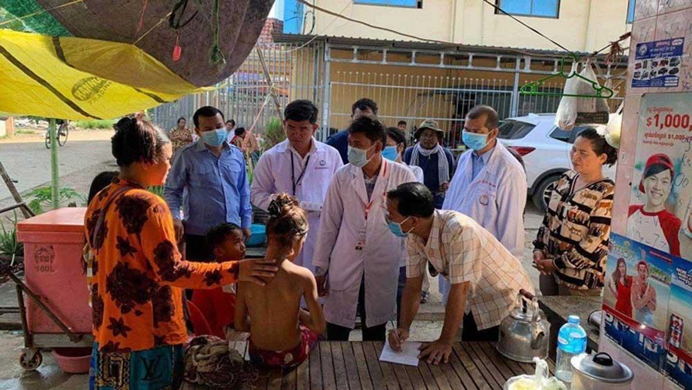 Xuất hiện bệnh lạ tại Campuchia