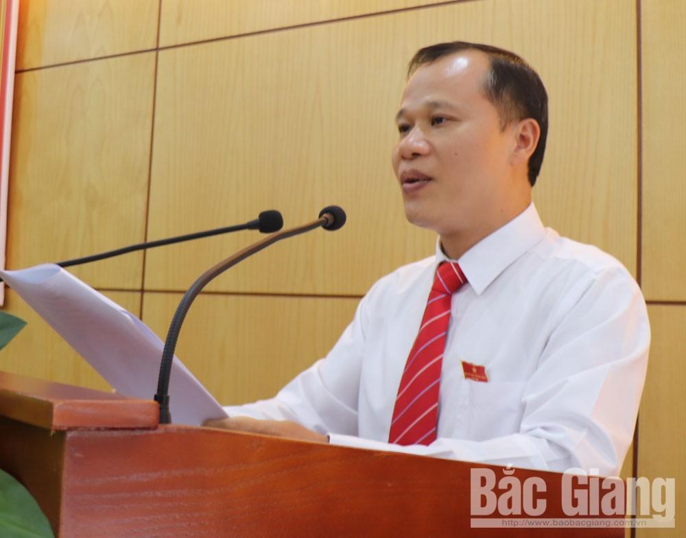 HĐND TP Bắc Giang, kỳ họp thứ 14, nhiệm kỳ 2016-2021, Bắc Giang, công tác cán bộ