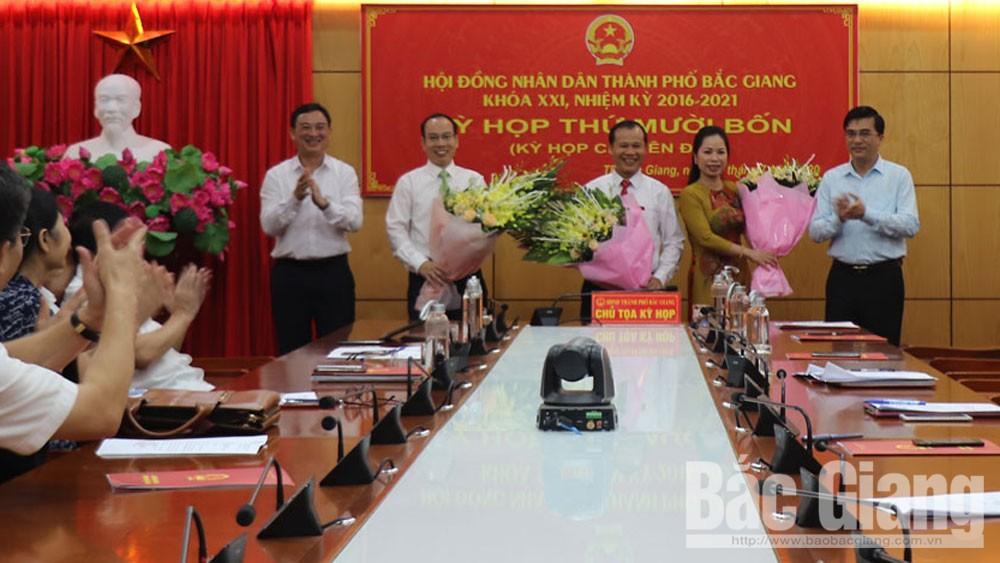 HĐND TP Bắc Giang tổ chức kỳ họp thứ 14, nhiệm kỳ 2016-2021: Bầu Bí thư Thành ủy Mai Sơn giữ chức Chủ tịch HĐND TP