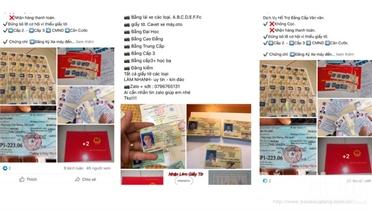 Làm giấy phép lái xe giả: Tiền mất, tật mang