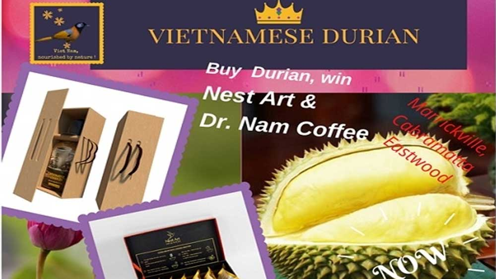 Vietnam boosts durian promotion and consumption in Australia
