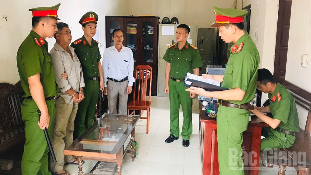 Bắc Giang: Bắt tạm giam bị can Lưu Văn Quân để điều tra về hành vi cố ý gây thương tích