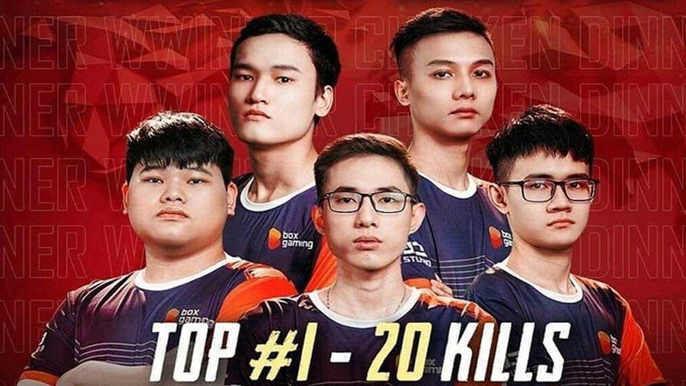 Vietnamese gamers, set two records, shooting tournament, Unknown's Battlegrounds, Box Gaming, international shooter league