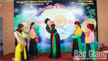 Chị Dương Thị Hoài Thu: Nặng lòng với dân ca quan họ