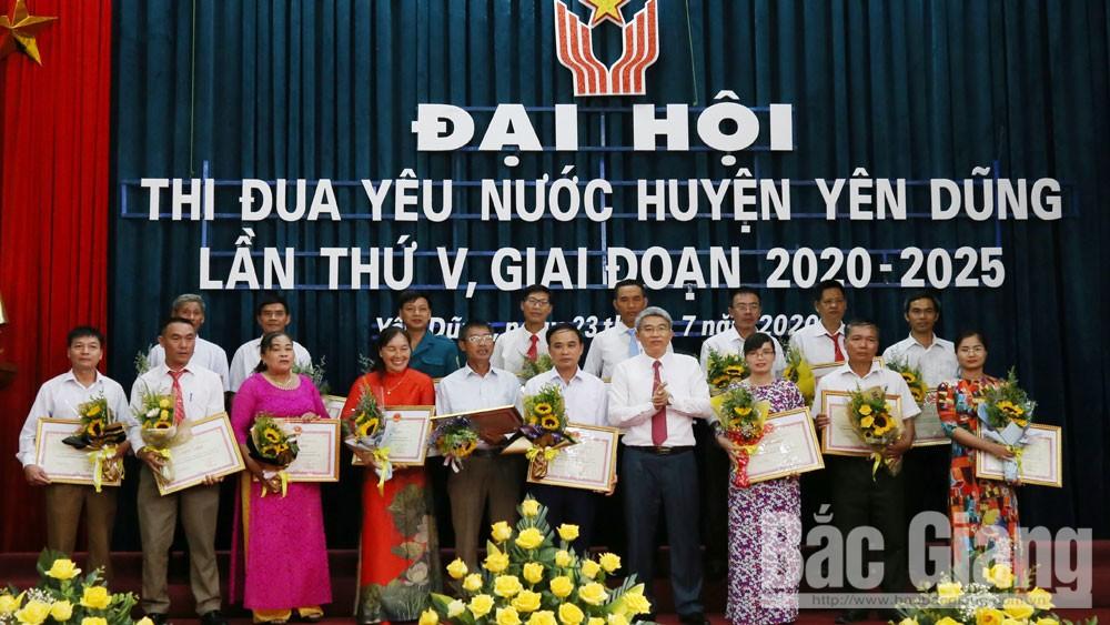 Yên Dũng (Bắc Giang): 55 tập thể, 92 cá nhân được tuyên dương tại Đại hội Thi đua yêu nước lần thứ V
