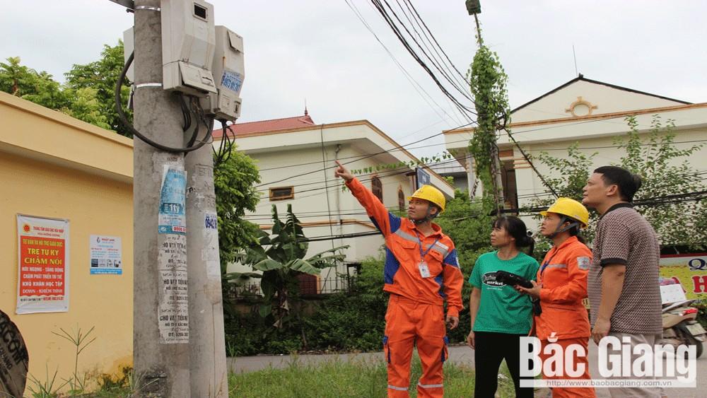 điện lực, điện, giá điện, Bắc Giang, công tơ, tiền điện, tiết kiệm điện