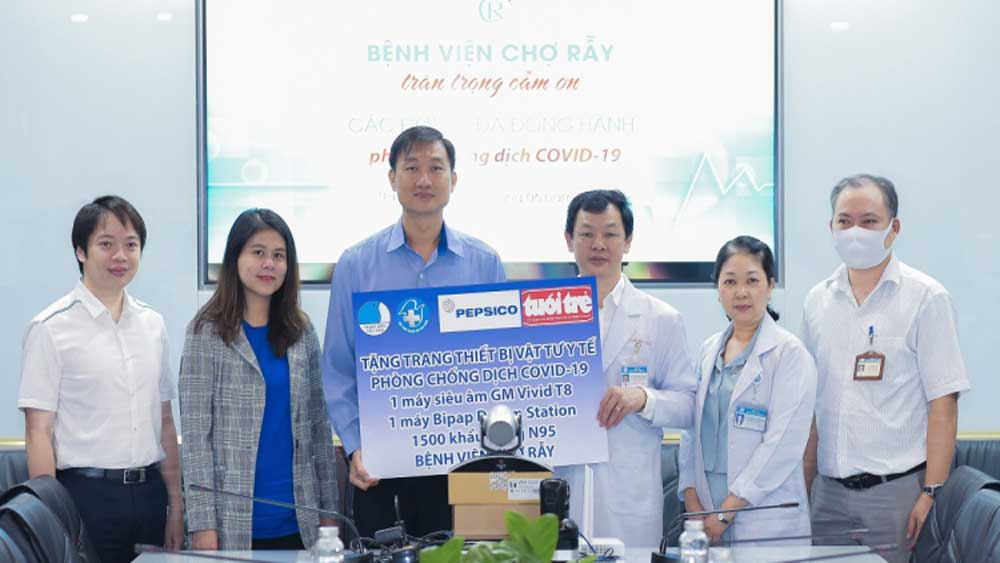 PepsiCo, medical gear, Vietnam, Covid-19 fight, medical supplies, Vietnamese hospitals,  health facilities, Covid-19 campaign
