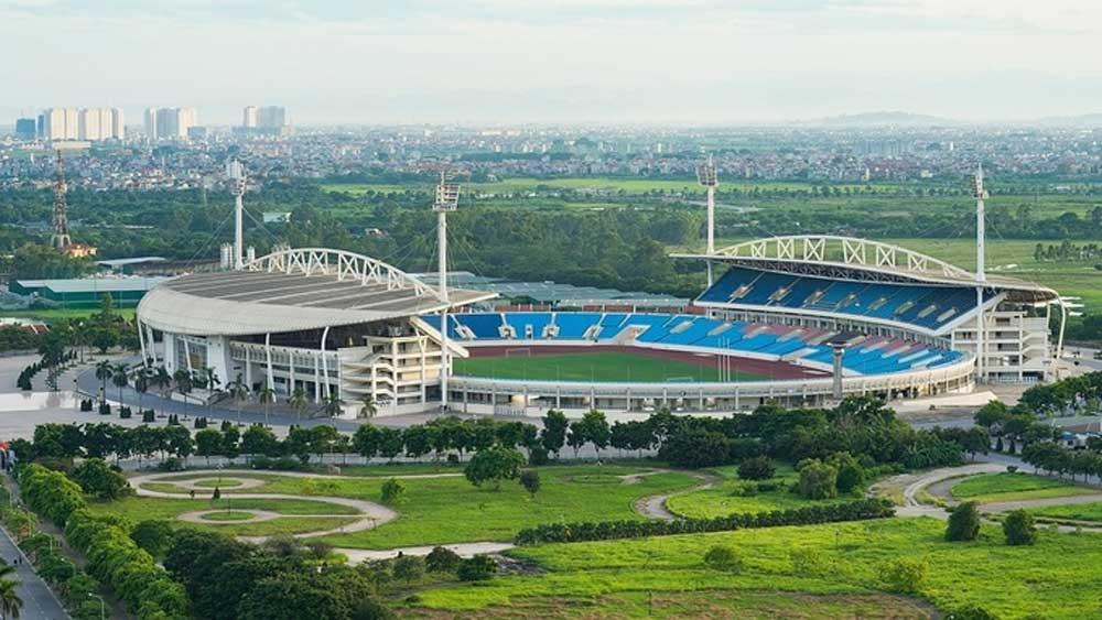 Three stadiums, host 2021 SEA Games, men's football, Vietnam, international standards, 36 sports,  medals tally
