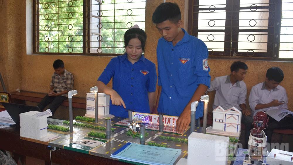 Huyện Tân Yên tổ chức cuộc thi sáng tạo thanh, thiếu niên, nhi đồng