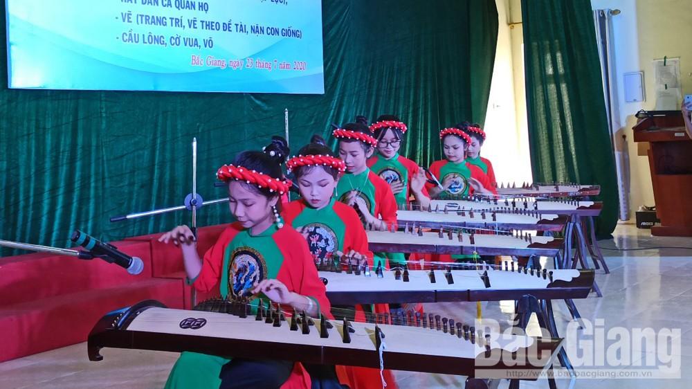 Trường Trung cấp Văn hóa, Thể thao và Du lịch Bắc Giang dạy miễn phí các môn năng khiếu cho học sinh
