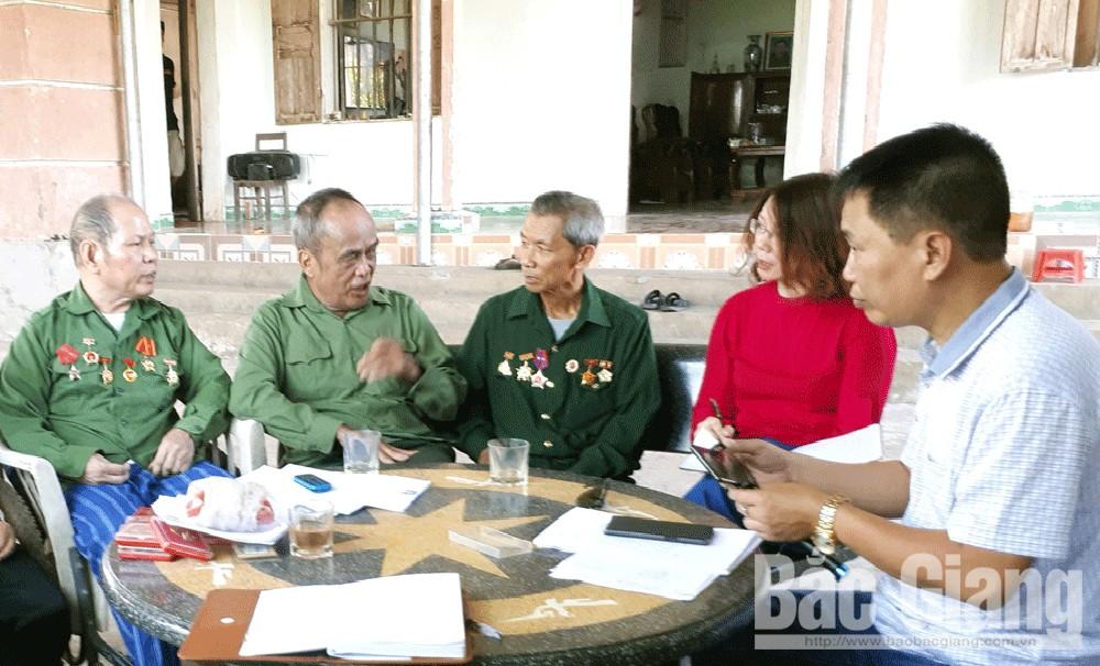 Nỗi niềm, thương binh không sổ, Lục Nam, Bình Sơn, Lục Sơn, ông Nguyễn Văn Mừng