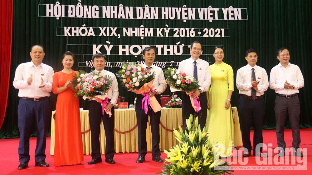 Ông Nguyễn Quý Dương được bầu giữ chức Phó Chủ tịch HĐND huyện Việt Yên