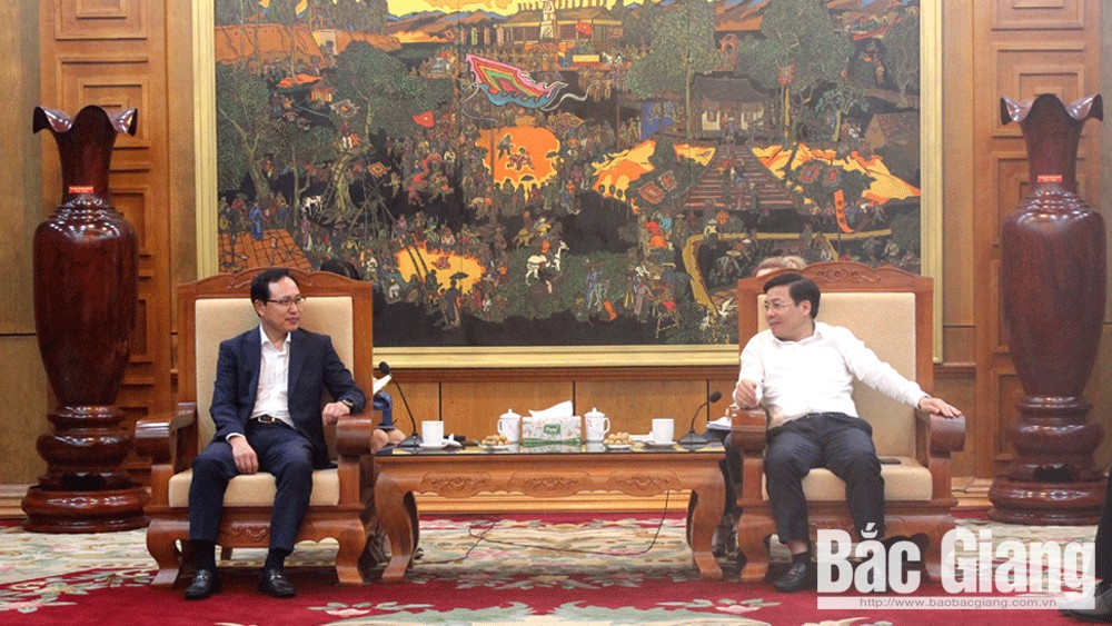 Bac Giang always provides favourable conditions to RoK's investors