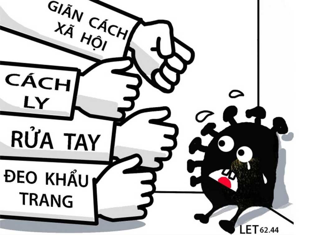 Da Nang painter,  Covid-fight, 100 propaganda posters, fight against the epidemic, artworks, high spirit