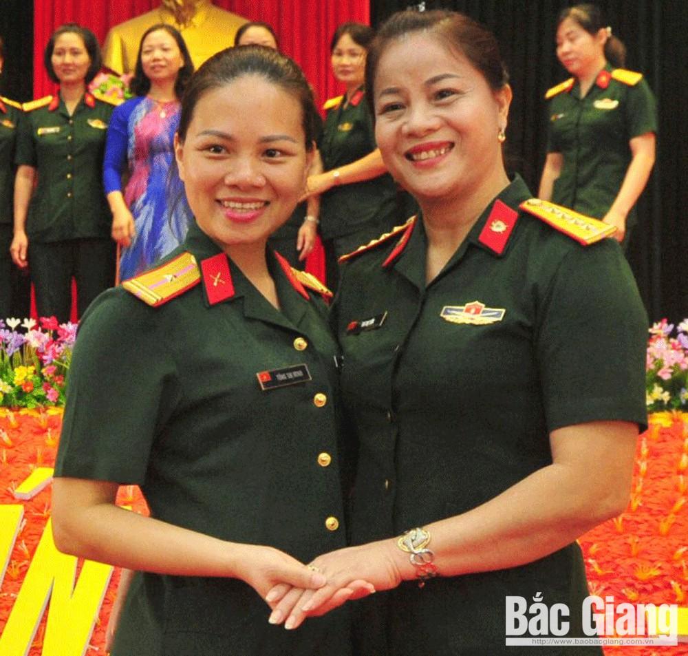Thiếu tá Tống Thị Minh, Bộ CHQS tỉnh Bắc Giang