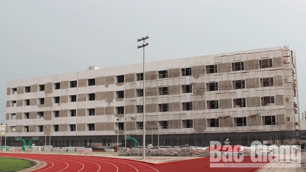 Công ty TNHH Luxshare tháo dỡ, khắc phục công trình sai phạm tại Khu công nghiệp Quang Châu (Việt Yên).