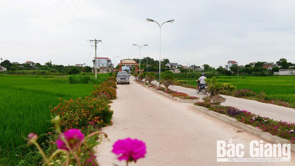 Tiên Lục: Xã nông thôn mới nâng cao
