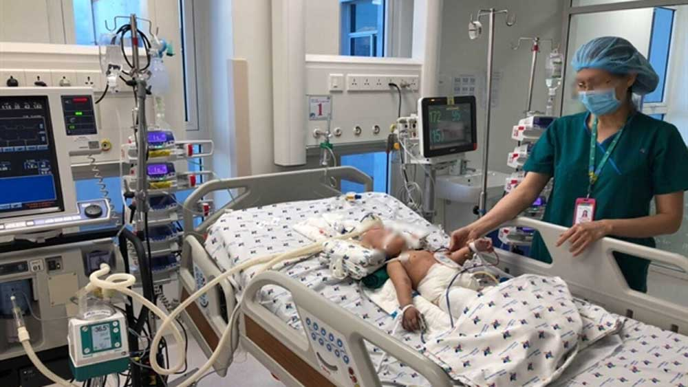 Vietnam, increasing success, separating conjoined twins, 13-month-old conjoined twins, good recovery, best care, optimal health, physical rehabilitation