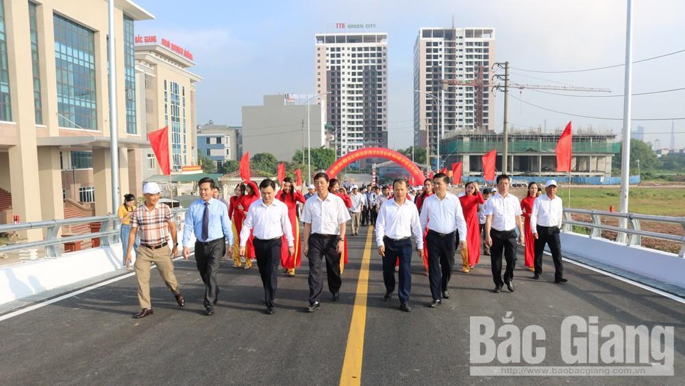 TP Bắc Giang: Khánh thành hai công trình lớn chào mừng đại hội Đảng