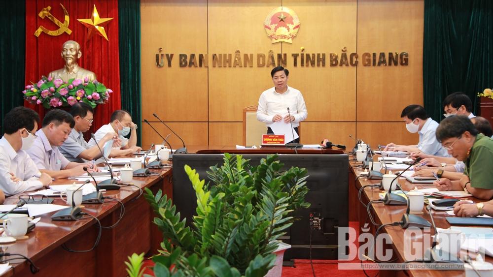 Bắc Giang tập trung cao phòng, chống dịch bệnh và thực hiện các nhiệm vụ trọng tâm