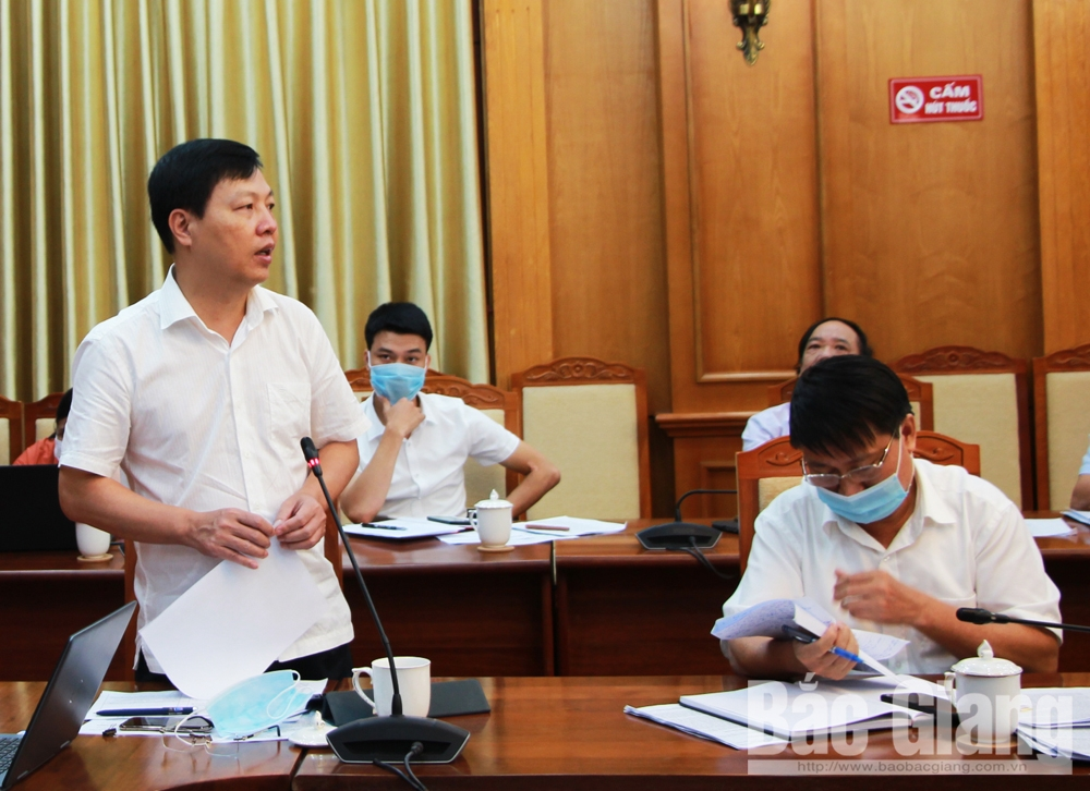 Tập trung phòng, chống dịch bệnh, thực hiện, nhiệm vụ trọng tâm, Bắc Giang, Chủ tịch UBND tỉnh