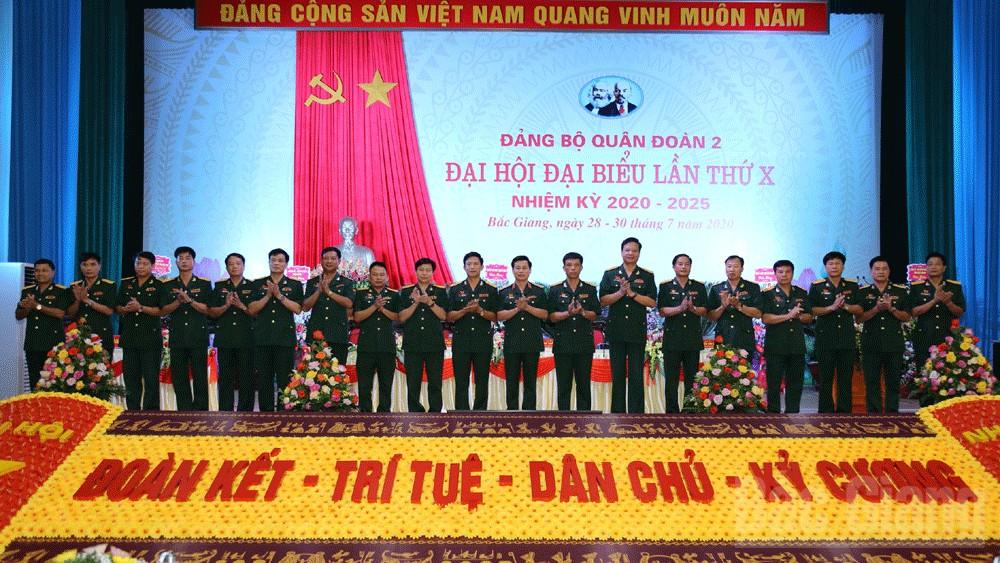 Quân đoàn 2, Đại hội đại biểu Đảng bộ Quân đoàn 2 lần thứ X, nhiệm kỳ 2020-2025, Thiếu tướng Đỗ Xuân Tụng, Bí thư Đảng ủy