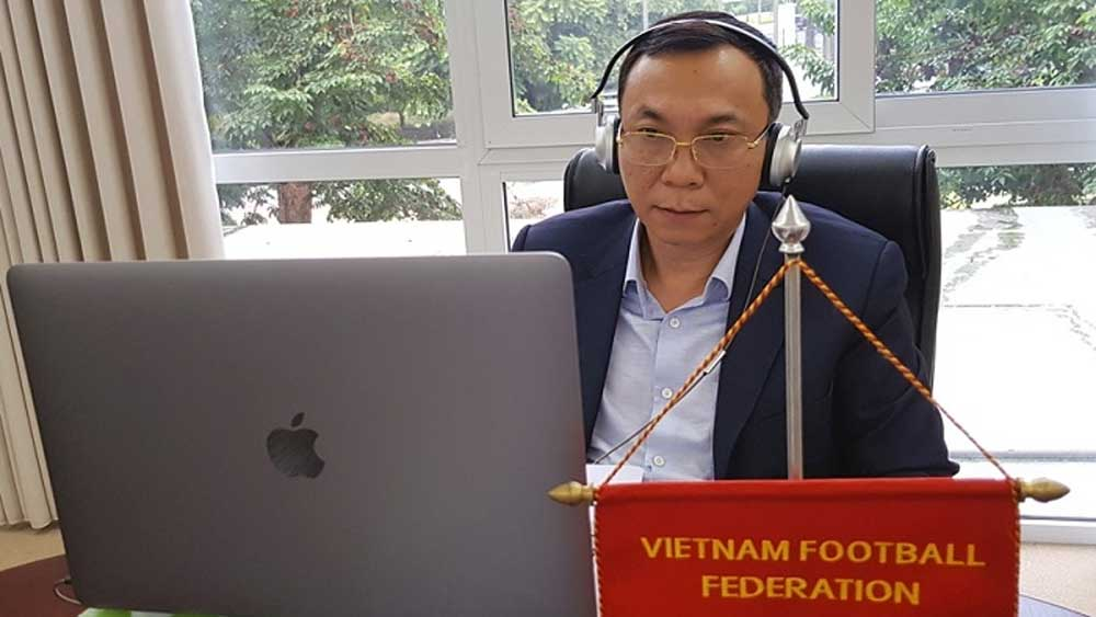 Vietnamese football, US$1.5 million, support from FIFA, Covid-19 relief plan, financial impact,  women's football