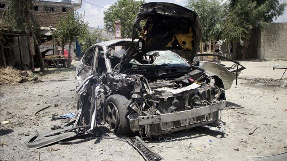 Đánh bom liều chết,lệnh ngừng bắn,đánh bom xe,Afghanistan,IS