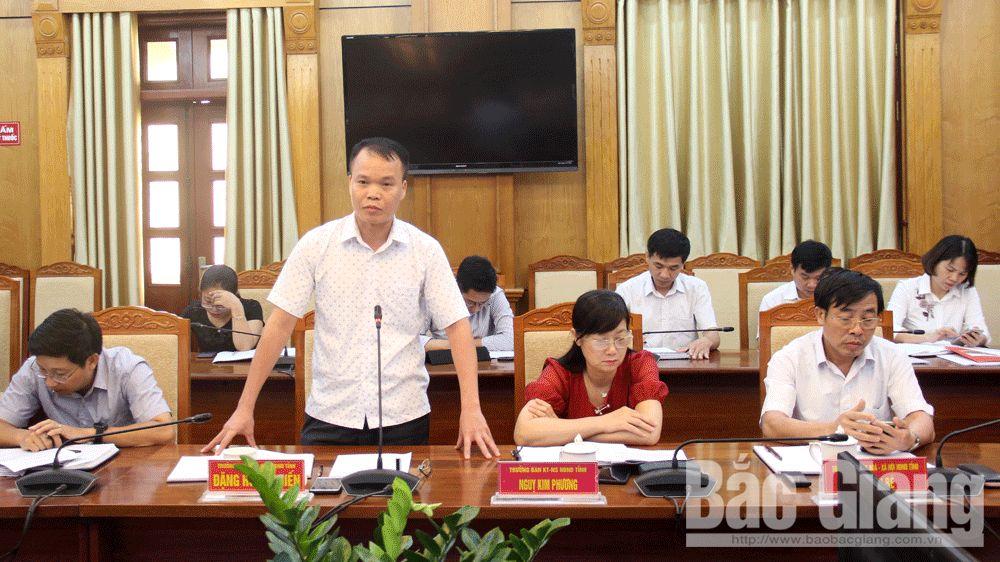 HĐND tỉnh, giám sát, phiên thường kỳ, Bắc Giang