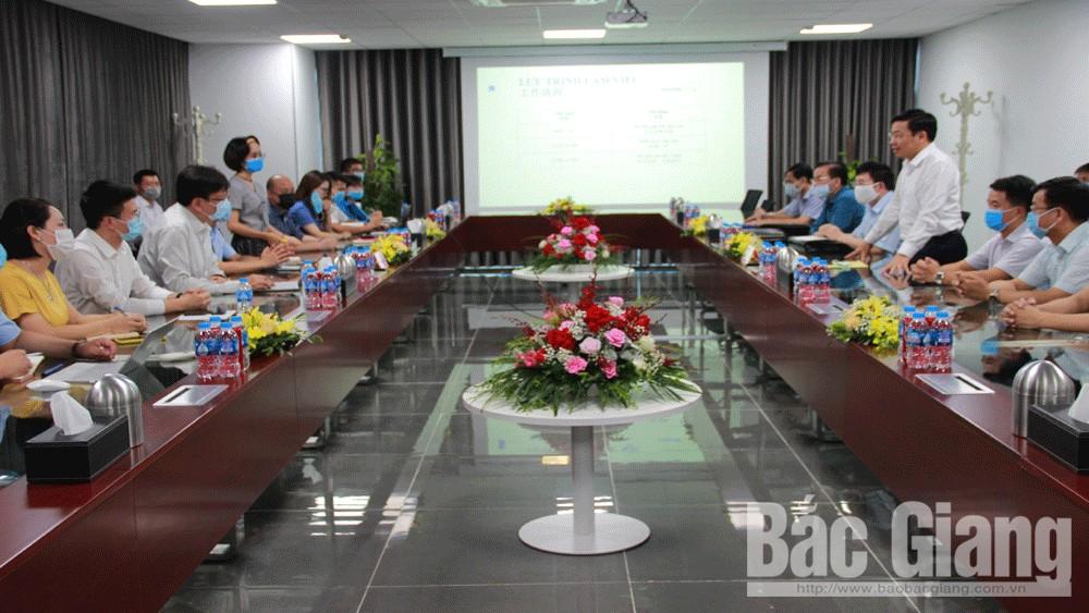 Chủ tịch, UBND tỉnh, Dương Văn Thái, Những vấn đề, vướng mắc, của Công ty, TNHH, Luxshare – ICT Vân Trung, đều được, xem xét, giải quyết, kịp thời, thấu đáo