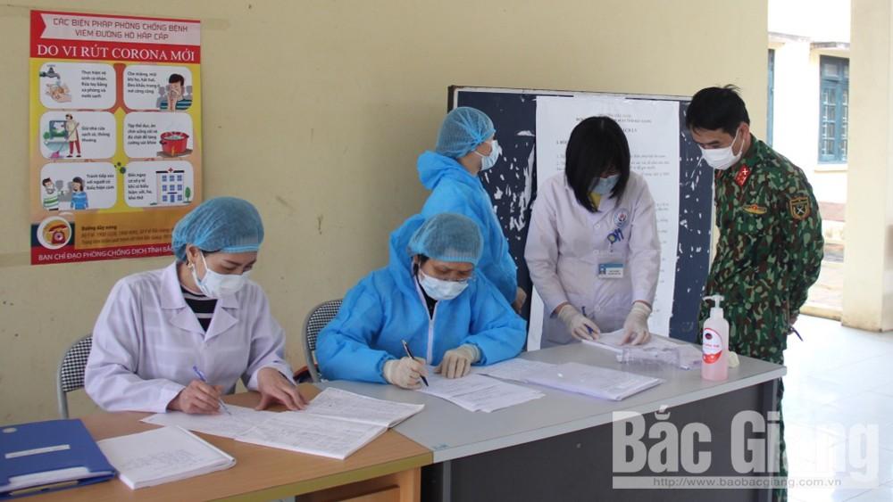 Bắc Giang, khai báo y tế, phòng chống dịch, covid 19