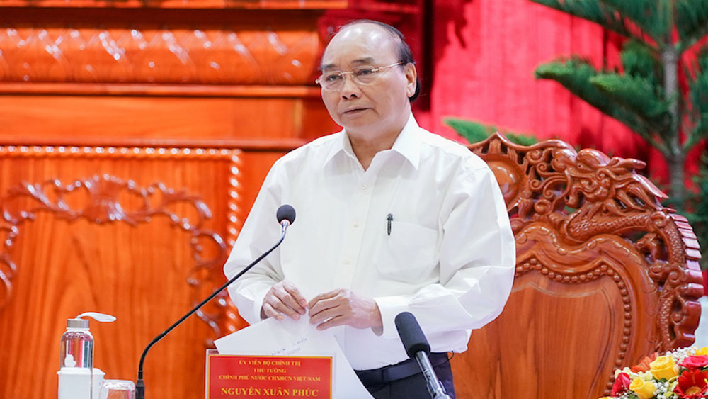 Thủ tướng Nguyễn Xuân Phúc, làm việc, thành phố, vùng đồng bằng sông Cửu Long