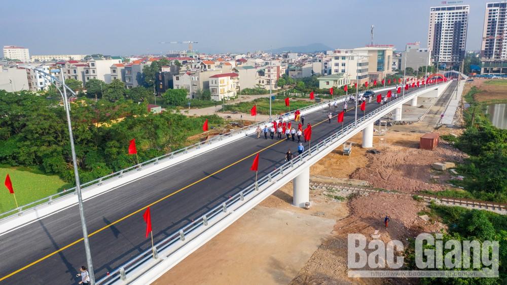 cây cầu, Mắt xích, quan trọng, cho giao thông, TP Bắc Giang, sông Thương