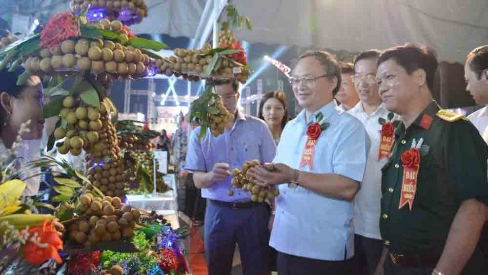 Hung Yen Longan Festival 2020, longan farming hub, local specialty fruit, world market, typical agricultural products, high-quality fruit, trade promotion activities