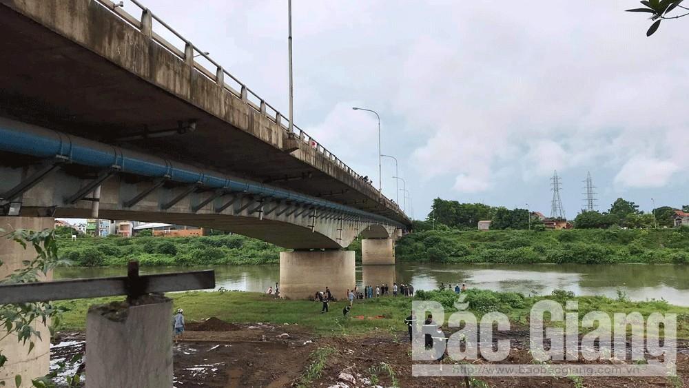 cầu Xương Giang, Bắc Giang, nhảy cầu, tử vong.
